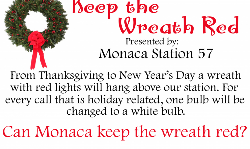 Keep the Wreath Red