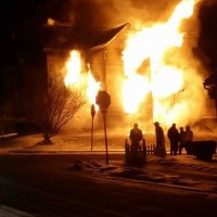 A Cold Night for Fighting Fires